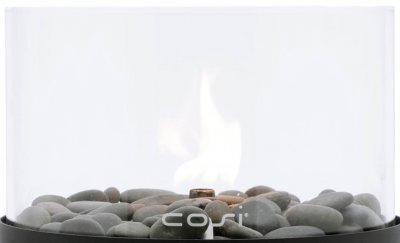Ersatzglas Cosi Fires - Cosiscoop Original Gaslaterne schwarz XL