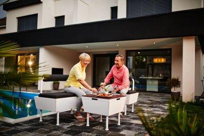 Rex Garden - Design Sitzbank 55/110