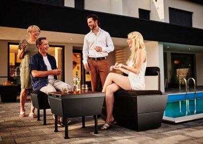 Rex Garden - Design Sitzbank 55/55